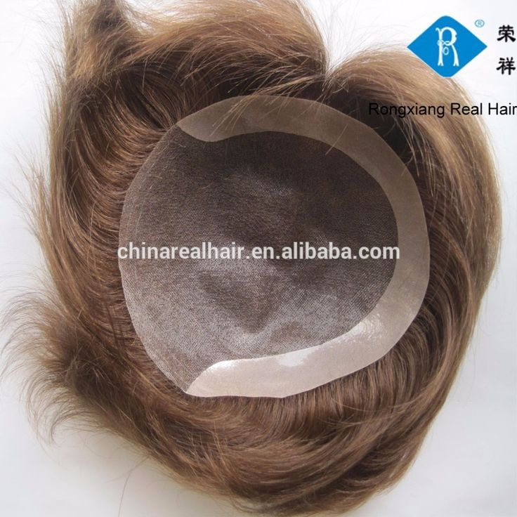 Best quality natural men human hair toupee