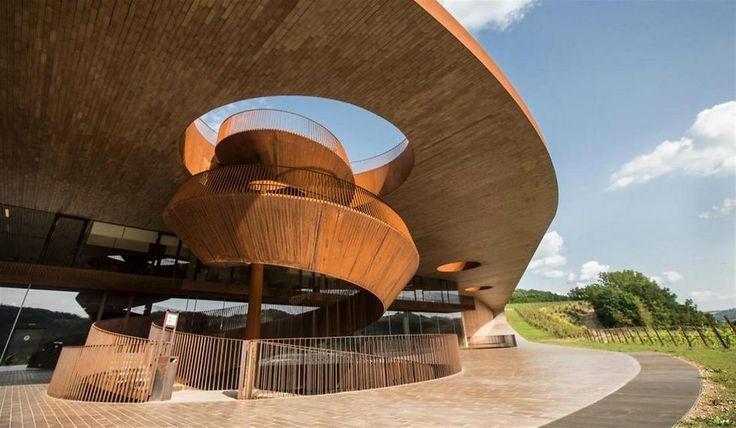 ynet יפים, מוזרים ואוונגרדים: 11 מבנים ארכיטקטונים של יקבים בעולם - אוכל
