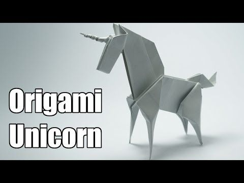 ▶ Origami - How to make an easy origami dragon - YouTube