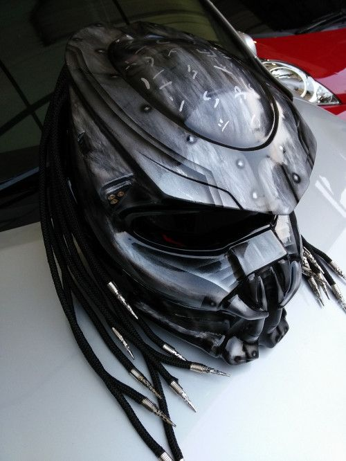 CELLOS PREDATOR HELMET MOTORCYCLE - DOT APPROVED SIZE S-M-L-XL-XXL
