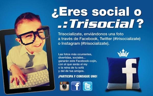 #trisocializate tío! ;-)