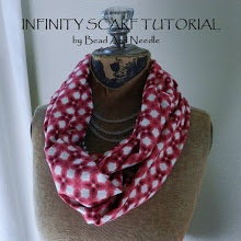 FABRIC INFINITY SCARF TUTORIAL with a twist in the fabric I wish I  How To Make Infinity Scarf With A Twist