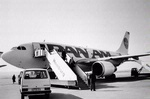 Pan Am's level of service faltered in the 1970s, and the airline began to lose passengers. To gain a domestic network, it bought National Airlines in 1980, but the merger proved costly. The airline began selling its assets, including its lucrative Pacific routes and the famous Pan Am Building in New York.    The bombing of Pan Am Flight 103 over Lockerbie, Scotland, in 1988 dealt a further blow. America's leading international carrier since 1928, Pan American ceased flying in December 1991.