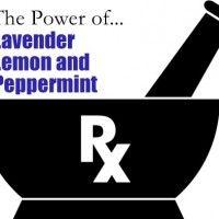 Alergie, zánět a Power of Lavender, Lemon & Peppermint Esenciální oleje