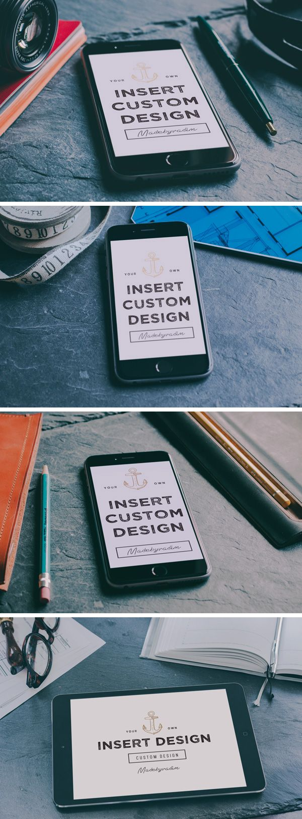 iPhone 6 & iPad Photo MockUps | GraphicBurger