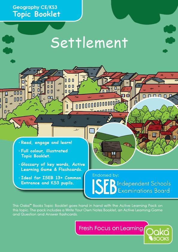 CE/KS3 Geography: Settlement | Geography for Common Entrance