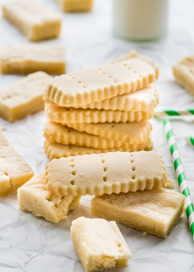 Classic Shortbread Cookies made with only takes 3 ingredients, mouthwatering, buttery and melt in your mouth delicious. A classic holiday cookie!
