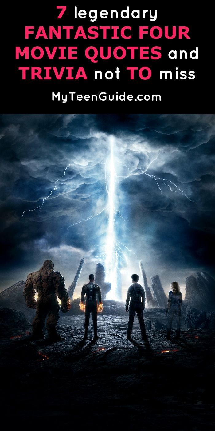 Everyone is feeling the superhero movie vibe right now, which is why these Fantastic Four movie quotes and movie trivia will up your movie game. The Fantastic Four movie was recently released last year and is one of several Marvel movies such as Captain America Civil War. The Fantastic Four team is a timeless team in the Marvel universe and this reboot boasts and an all-star cast. While the movie itself felt a little rushed towards the end, OMG I want to be Sue Sloan with her amazing…