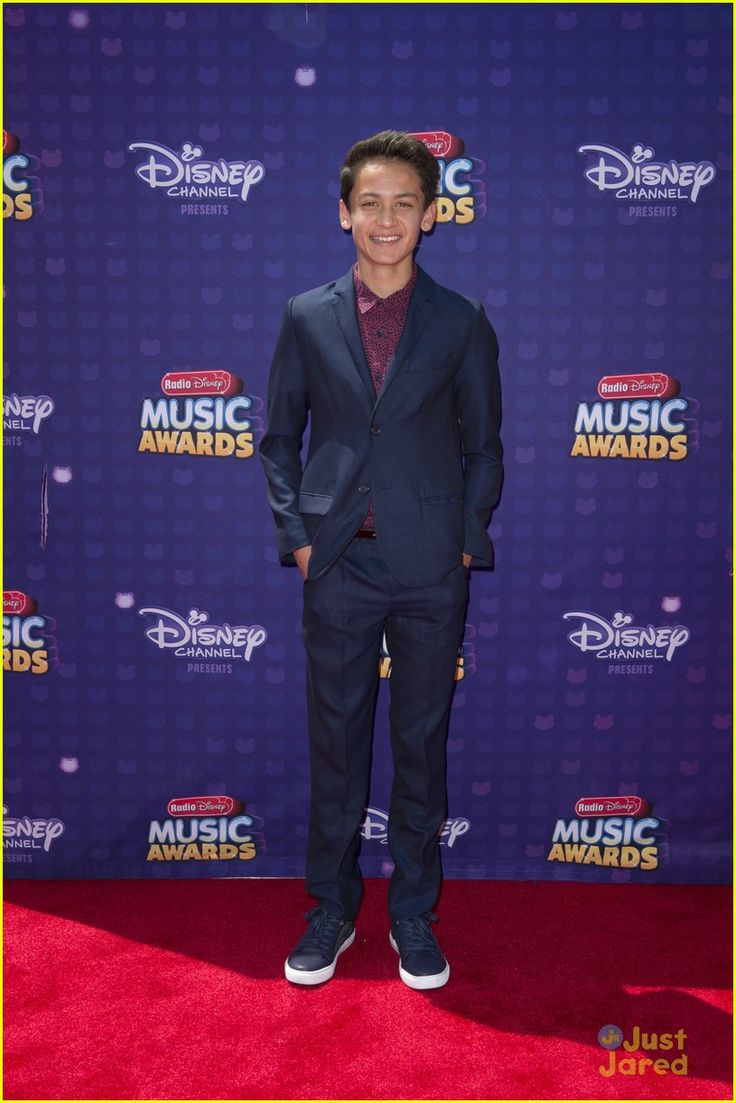 Tenzing Norgay Trainor at the Radio Disney Music Awards 2016