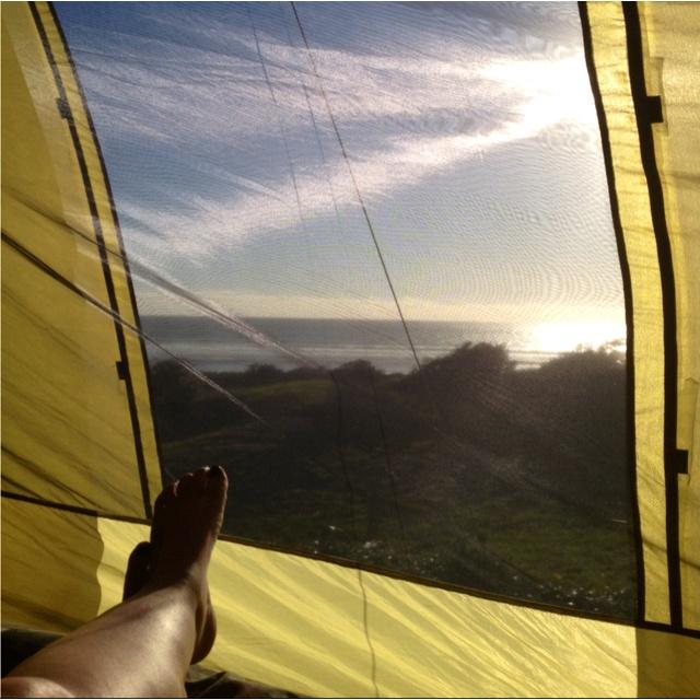 I love my tent!