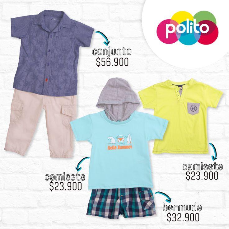 ¡Un look de verano, dos opciones para ocasiones diferentes! #Polito / #Alamedas Centro Comercial  Siempre Contigo