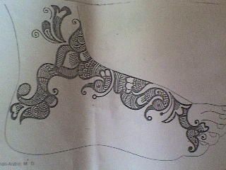 Mehndi Designs For Hands Drawings Arm 2014 Simple For Wedding For Beginners For Kids Book On Paper: Mehandi Design On Paper Wallpapers Photos Images P...