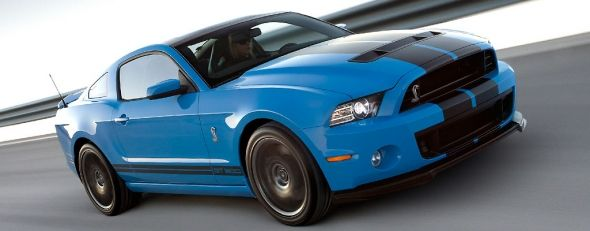 2013 Ford Shelby GT500 Mustang rated at 662 hp