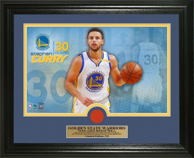 NBA Golden State ... http://www.757sc.com/products/nba-golden-state-warriors-stephen-curry-game-used-ball-13x16-photo-mint-le-252?utm_campaign=social_autopilot&utm_source=pin&utm_medium=pin #nfl #mlb #nba #nhl #ncaaa #757sc