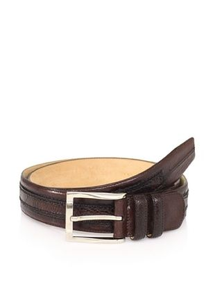 Mezlan Men's Ostrich Belt