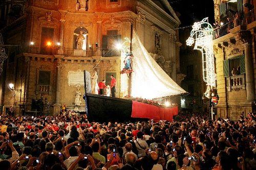Santa Rosalia La vara #Palermo #Sicily