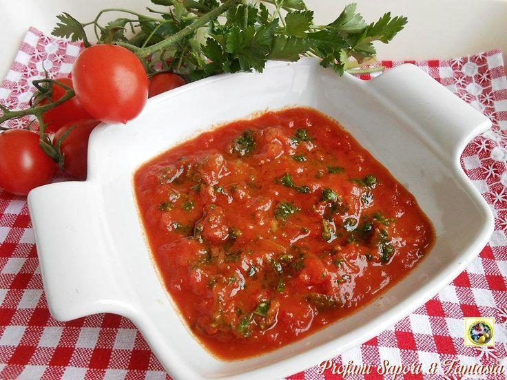Sugo alla marinara senza pesce, un sugo buonissimo che io utilizzo come base per le zuppe di pesce, ma l'opzione migliore è quando lo utilizzo per la pasta.