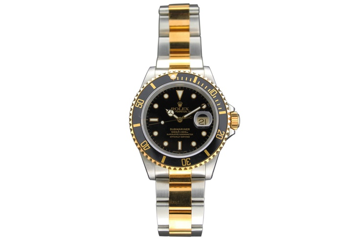 Buy a Rolex Oyster Perpetual Date, Submariner , Ref. 16613/93153 watch in Classifieds on Presentwatch.com