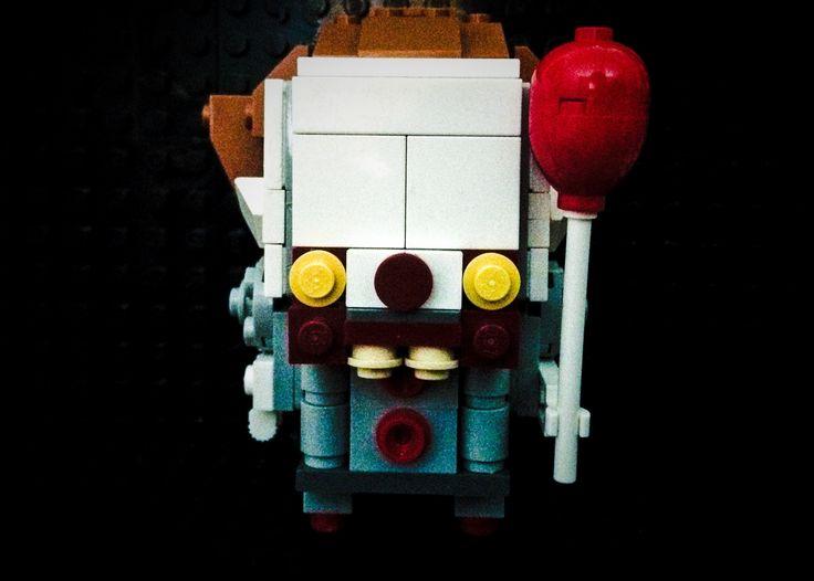 Lego brickhead pennywise