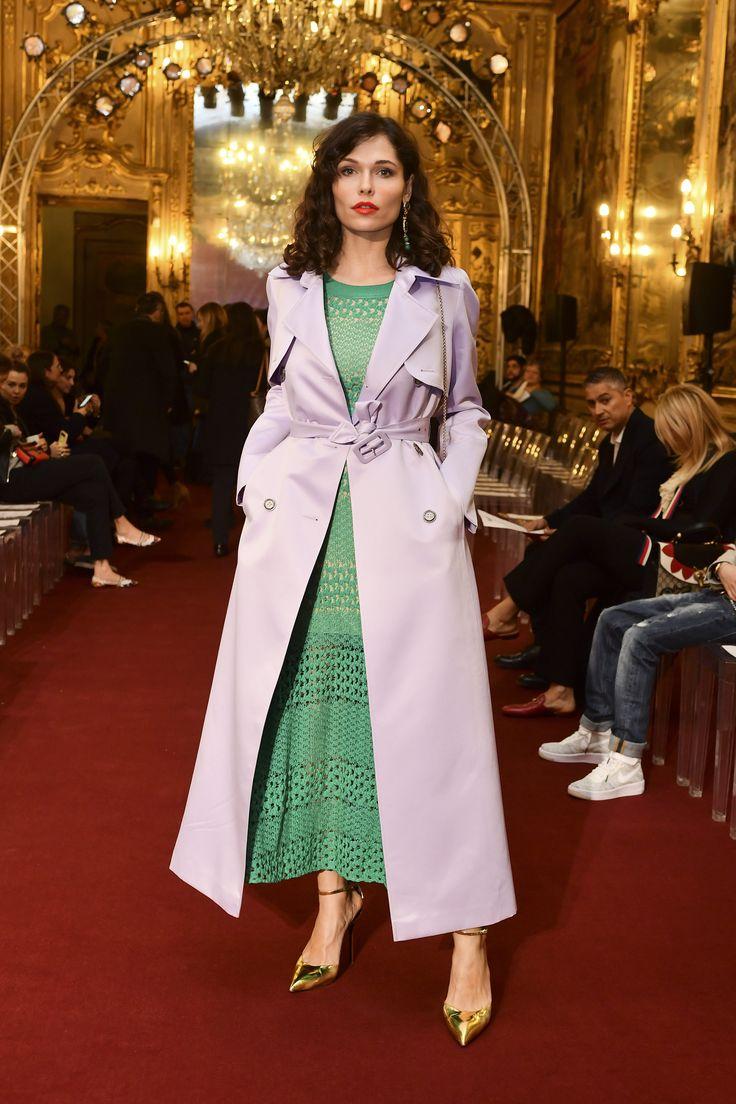 Polina Askeri #runway #braschifur #fashion #outfit #luxury #classy