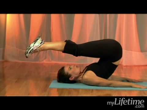 Lower Belly Workout: Jack Knife (Exercise 5)
