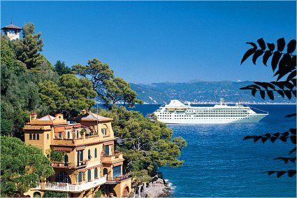 Mediterranean Cruise: Spain, Italy, France, and Greece! I would love to visit all these countrys and cruising is the best way to do it! My dream vacation : )