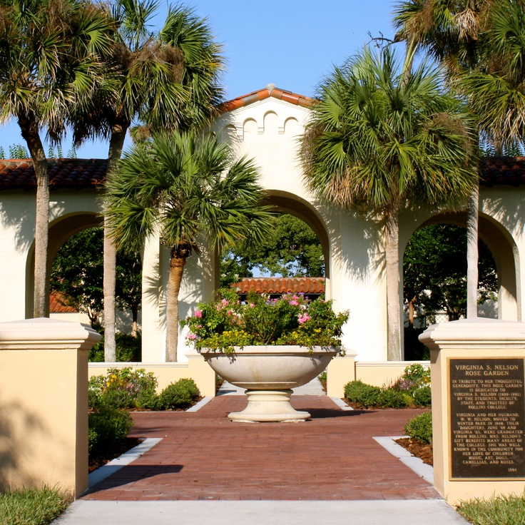 The New Home Of The Rose Garden Between Knowles Memorial Chapel And