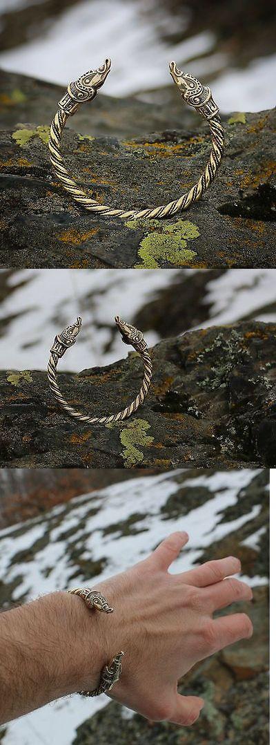 Bracelets 98483: Bracelet Viking Sea Dragon Ouroboros Wristband Brass Pagan Jewelry Midgard -> BUY IT NOW ONLY: $58 on eBay!