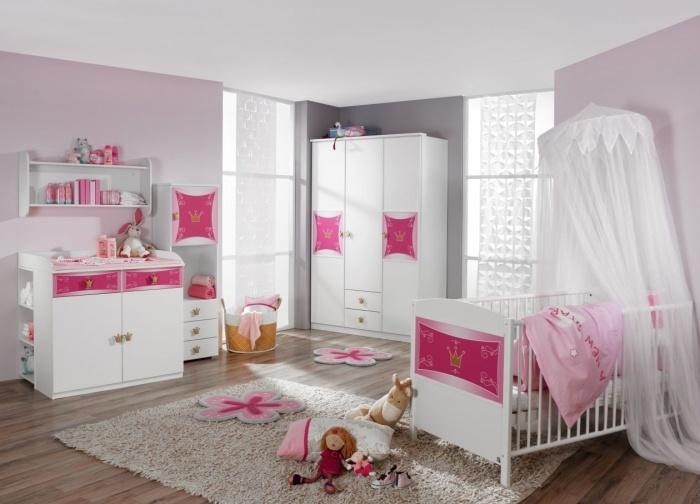 Trend Babyschlafzimmer KITTY f r kleine Prinzessinnen