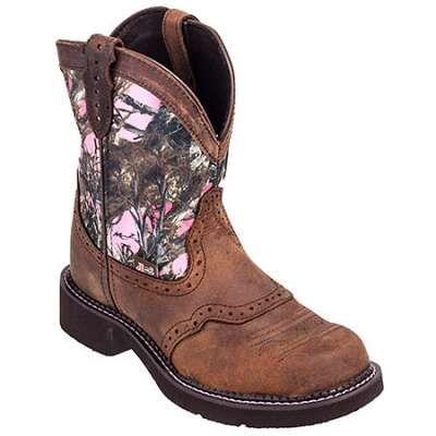 Justin Boots: L9610 Gypsy Women's Pink Camo Cowgirl Boots