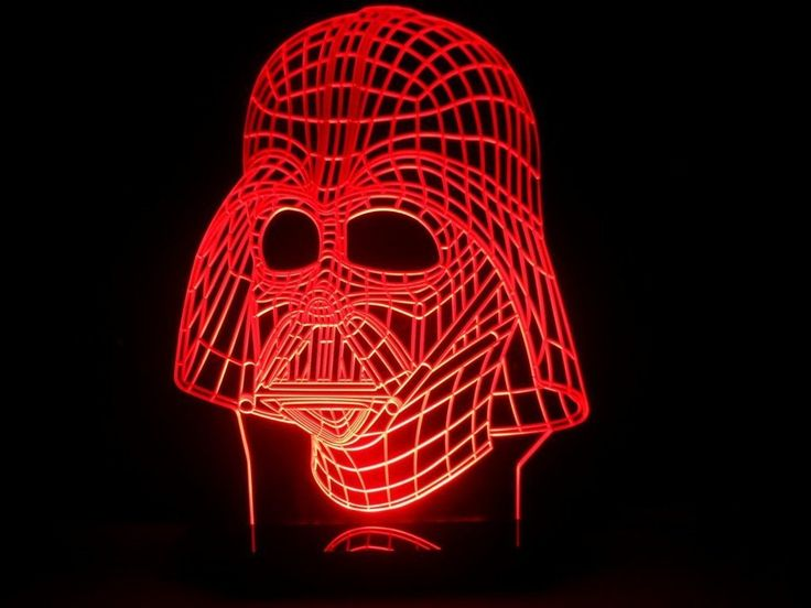 Stunning Star Wars Darth Vader Face Mask LED Desk Light *Multicolor Star Wars Darth Vader LED Desk Light - $120.00* http://glowingwithme.com/stunning-star-wars-darth-vader-face-mask-led-desk-light #Star #Wars #Darth #Vader #Multicolor #LED #Desk #Table #Light #Lamp