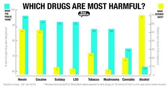 Instant Tudomány: Infografika: Amit a lakosság hisz a drogokról, és ami a valóság - HVG.hu