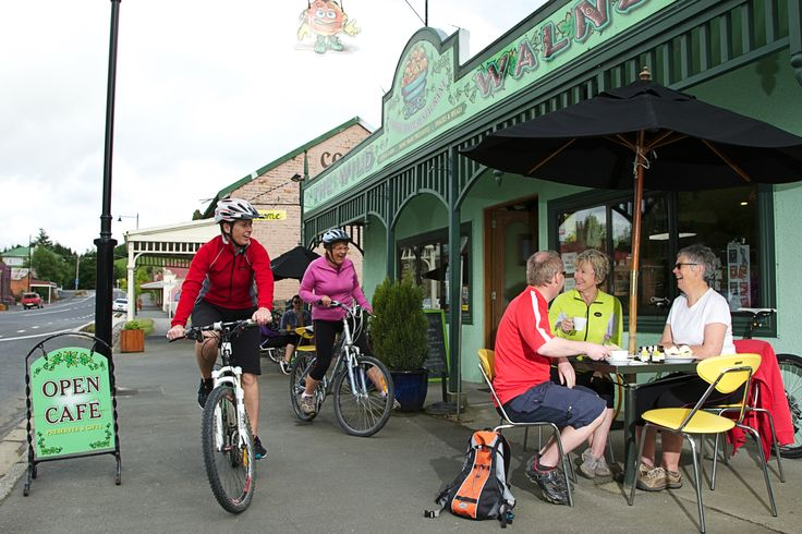 Clutha Gold Trail, Clutha and Central Otago. Lawrence is a great place to stay and dine. www.cluthacountry.co.nz