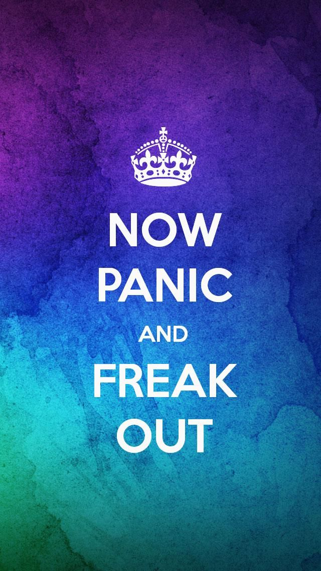 now panic and freak out the iphone 5 keep calm wallpaper