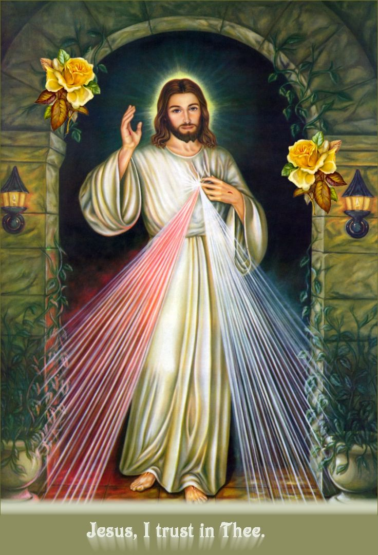 holy image of divine mercy