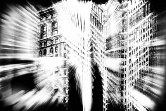 Abstract Flatiron Building NYC #newyork #art #kunst