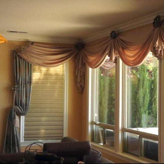 Best 25+ Corner Window Treatments Ideas On Pinterest