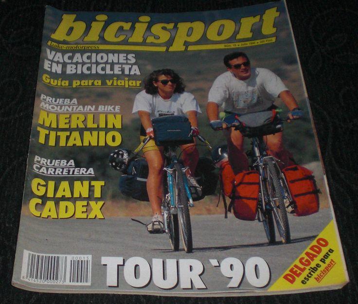 Revista Ciclismo Bicisport N 15 Julio 1990 con Poster Gianni Bugno Giro Italia