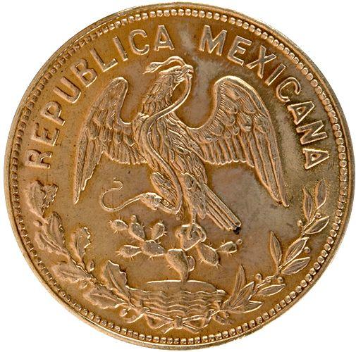 Medallas conmemorativas, oro, Banco de México. Constitución de 1857