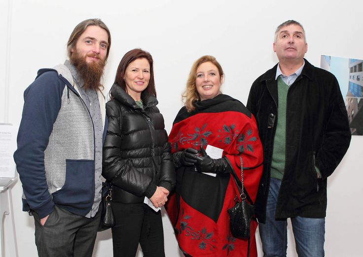 Brian, Roisín, Jacqueline and Kevin Walsh were also pictured at the opening of the First View. - www.noelbrownephotographer.com
