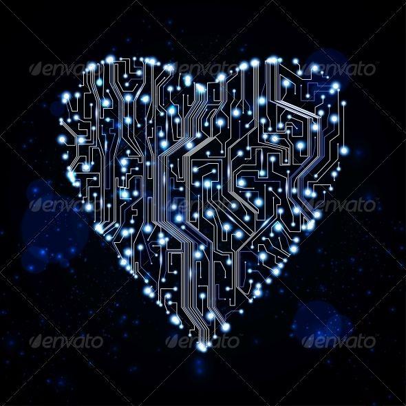 Circuit board vector b...