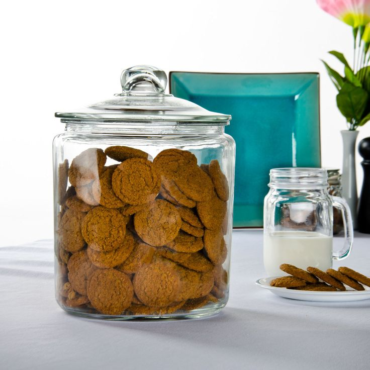 Core One Gallon Glass Jar with Glass Lid