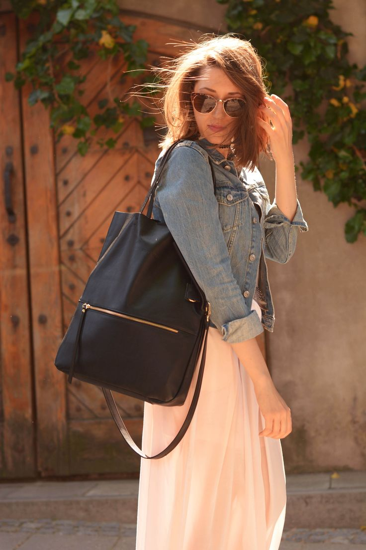 """Lottie Fold Over Tote"" by morelebags"