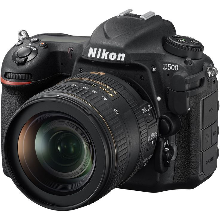 Nikon D500 kit with Nikon AF-S DX NIKKOR 16-80mm f/2.8-4E ED VR Lens Digital SLR Camera - Black