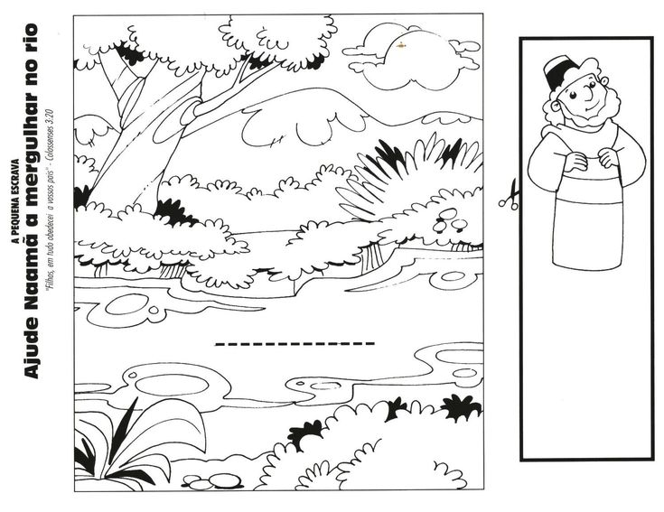 naaman coloring pages coloring pages pictures - Bible Story Coloring Pages Naaman