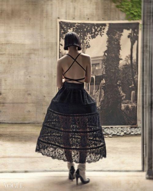 """Summer Dreaming"" Vogue Korea 2014"