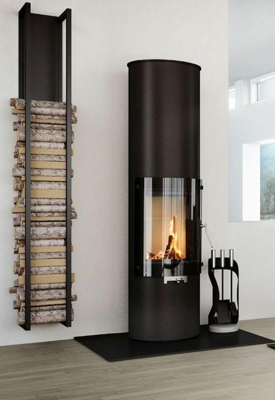 Brennholz lagern ideen wohnzimmer  Die besten 25+ Brennholz lagern Ideen auf Pinterest | Kaminholz ...