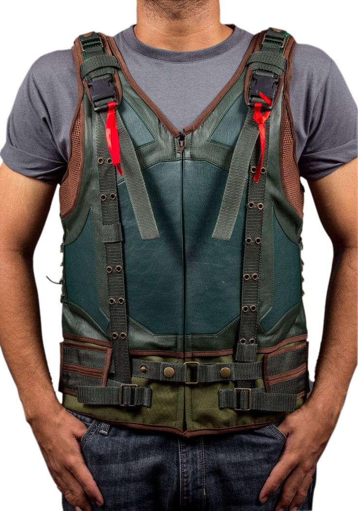 F&H Boy's Bane The DarkKnight Rises Synthetic Leather Vest M Green. Premium Quality Synthetic Leather. Polyester + Satin Lining with 2 Inside Pockets. Original YKK Zipper. 30 Day Returns & Exchange, 100% Money Back Guarantee. International buyers may be required to pay import duties as levied by their government.