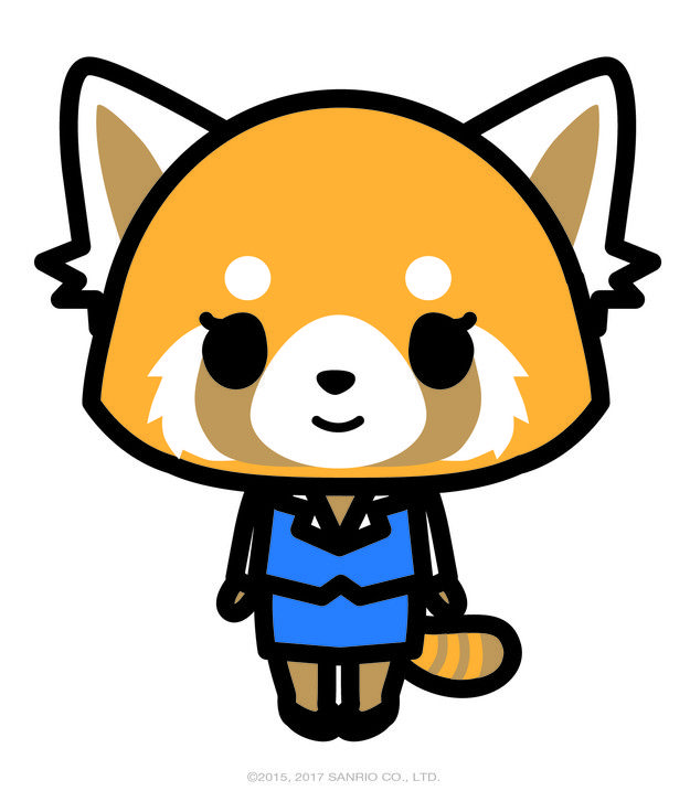 The latest character to join Sanrio is an adorable red panda named Aggretsuko.   Sanrio's New Character, Aggretsuko, Is Quite Literally, Actually, All Of Us