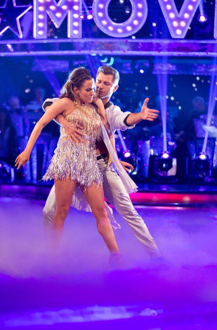 Caroline flack and Pasha Kovalev strictly come dancing 2014 week 3 movie week